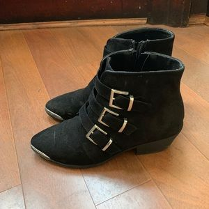 ASOS Design Rhyme Western Ankle Boots